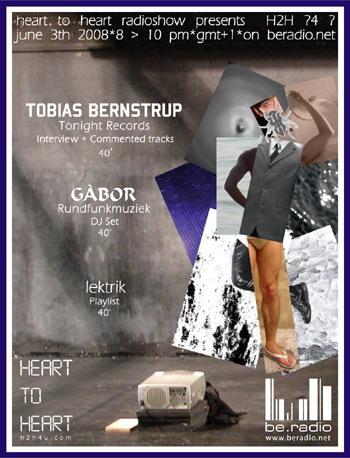 h2h YNT - h2h4u - heart to heart - with Tobias Bernstrup, gabor, lektrik